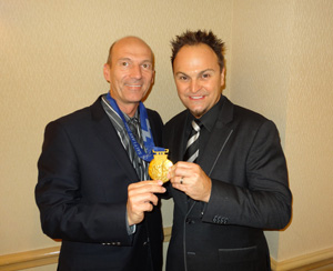 Hartmut Eggert (Personal Coach, Business Consultant & Entrepreneur), Steven Bradbury (Australia's First Winter Olympic Gold Medalist and 4 time Winter Olympian)