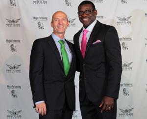 Hartmut Eggert (Personal Coach, Business Consultant & Entrepreneur), Michael Irvin (3x Super Bowl Champion)